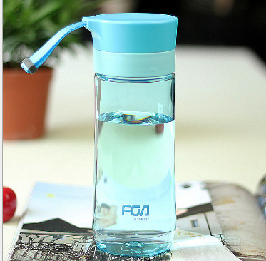 factory direct sale plastic water bottle,outdoor plastic sports bottle with straw