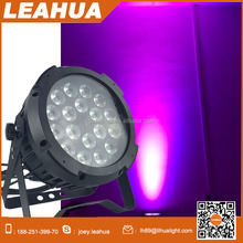 high quality waterproof 4in1 led 18*10w flat par can