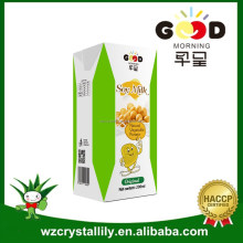Soy Milk Drink Type and HALAL Certification soy milk