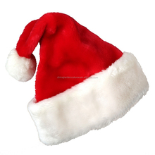 Super Christmas Caps Thick Ultra Soft Plush Santa Claus Holidays Fancy Dress Hats Fashionable Design Cap
