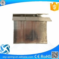 SS302 precision sheet metal flat spring with good quality
