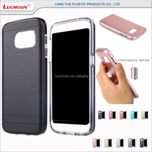 electroplate button mobile phone case cover for samsung mega s core 2 3 4 5 6 7 8 g edge plus mini