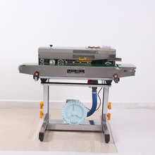 Widely used automatic continuous heat bag sealing machine/bag sealer