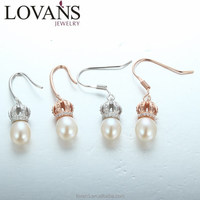 Peral Earrings Fashion Pearl Drop Earrings Costume Jewelry For Party LWE0166