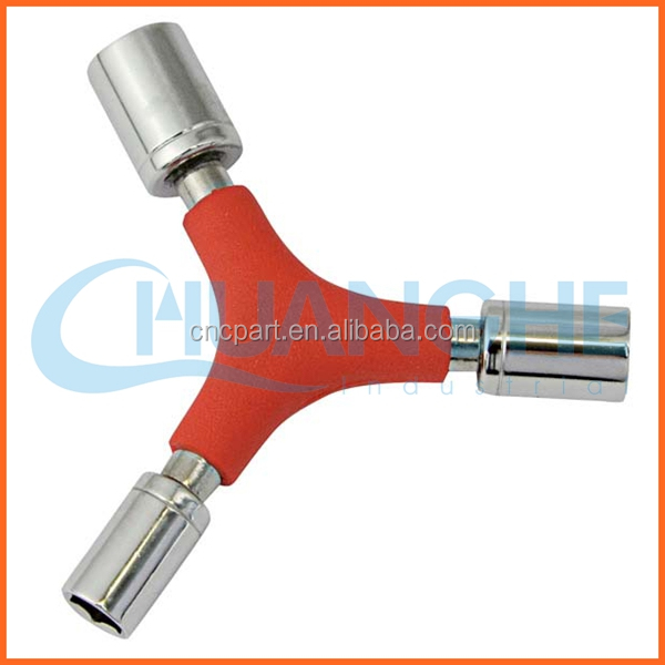 Production and sales double flexible socket wrench
