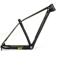 dazzling carbon mountain bike mtb frame 29 with 15.5 17 19er optional