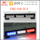 LED flashing warning light hazard caution grille light head TBE-168-3C4/4C4 CE/IP65/ROHS