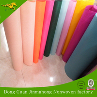 Plain Style and Needle-Punched Nonwoven Technics Needle Punch Polyester Nonwoven Felt Fabric