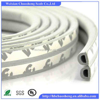 Extrusion rubber seal strip attractive and durable for wooden door and window