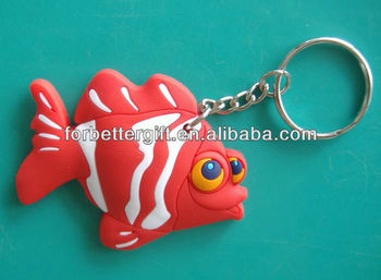 Promotion PVC Rubber Key Chain