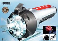 Hand power flashlight used for cars