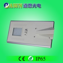 80W high power intelligent easy install integrated all in one solar led street light home decorate TRAFIC LIGHT SOLAR