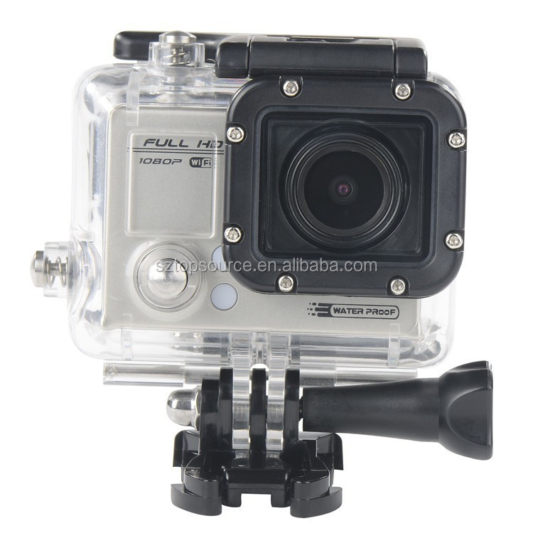 Sport camera F53 WiFi Sport dv <strong>1080P</strong> Full HD Waterproof Camcorders 1.5 LTPS 5 mega pixels