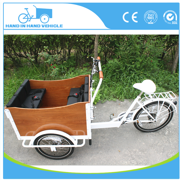China manufacturer electric tricycle/three wheel cargo bike for sale