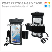 Jogging type SW-021 IPX8 phone waterproof case with earphone