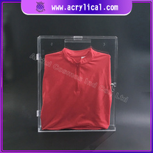 acrylic sport t shirt frame cases, football jersey acrylic display