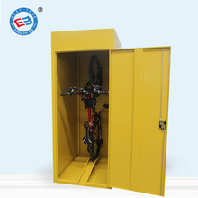 Outdoor waterproof metal bike locker/bicycle storage locker for sale