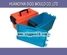 China injection plastic tool box with handle mould