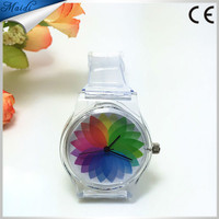 8 Styles New Arrival Jelly Silicone Watch Transparent Silicone Watch Plastic Quartz Silicone Watch LMW-6