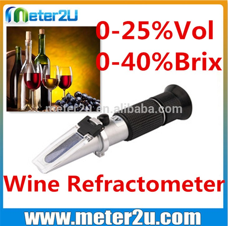 Hot selling Household beer wort and wine refractometer