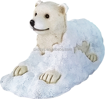 Fiberglass Playground Polar Bear