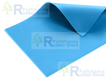 Blue Durometer 45 Silicon Sheet - Smooth/Smooth