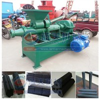 Newest developed coal charcoal briquette extruder machine/coal stick briquette press