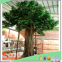 Alibaba China Factory Hot Sale High Quality Artificial Ficus Tree, Artificial Ficus Tree Banche Wholesale