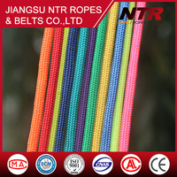 NTR various styles Fluorescent yellow amusement equipment polyester rope 2 inch nylon rope