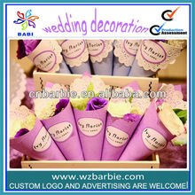 wedding decoration paper cone