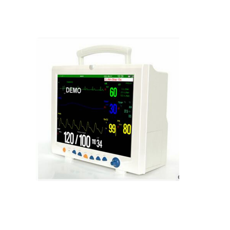 Portable multi parameter patient monitor new medical equipment with CE certificate