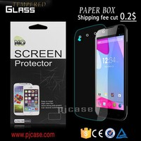 High quality 0.9h 2.5d 0.33mm/0.4 mm tempered glass screen protector for zte MAX+ N9521 boost front glass welcome order