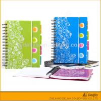 Widely used college spiral student ruled notebook