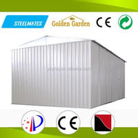 China barn style steel house with corrugated sheet metal used