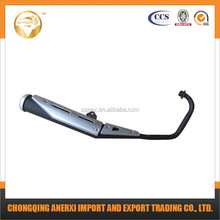 Motorcycle spare parts low price 175-1 custom motorcycle exhaust mufflers