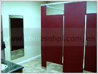 waterproof hpl phenolic compact toilet cubicle parition board for hotel bathroom furniture