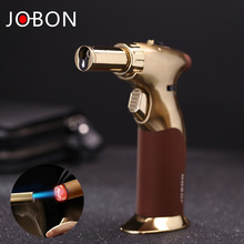 jobon metal double fire gas torch lighter BBQ kitchen tools cooking lighter