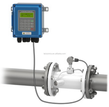 TUF-2000B low cost wall mounted inline tube type ultrasonic water flow meter for industrial control