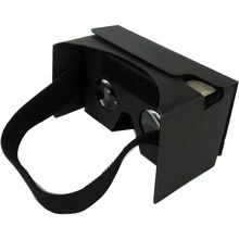 wholesale suppliers free samples good quality vitual reality 3d glasses google cardboard vr 2.0with NFC and head band