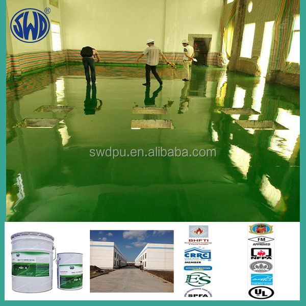 polyurethane uv resistance industrial floor coatings