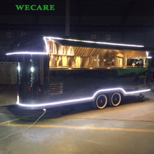 Hot selling fast food mobile kitchen trailer for crepe churros
