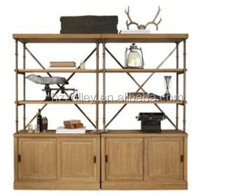 Italy designer solid wood showroom cabinet design display cabinet