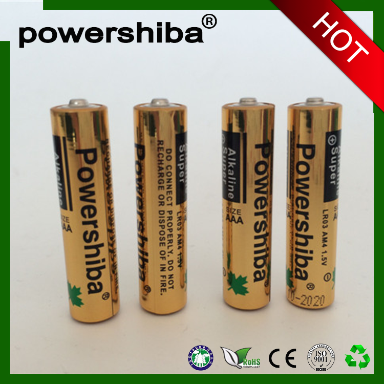 1.5v LR03 dry cell China OEM aaa battery