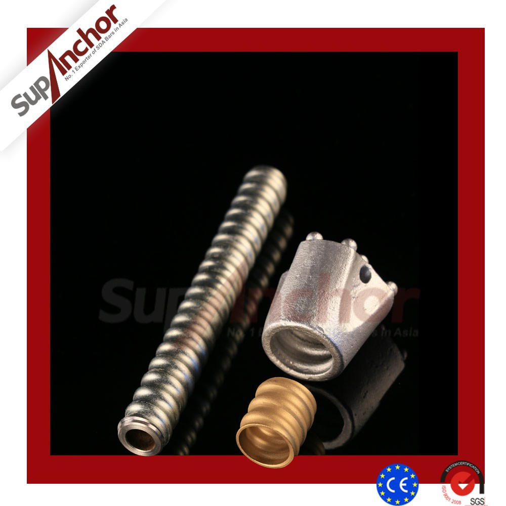 SupAnchor R25N Self Drilling Anchor Bar Wall Drywall Hollow AnchorSteel round bar for anchor chain