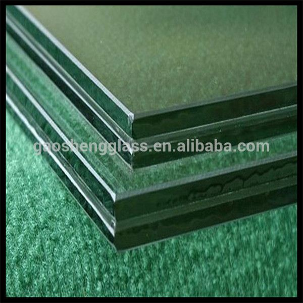 Manufacture Polished Edge Laminated Glass for Sunshine Hut