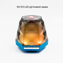 2017 Wireless portable Winning star rechargeable disco LED light bluetooth speaker
