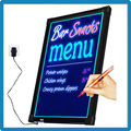 Trade assurance led signs remote control rgb5050 battery powered led message board