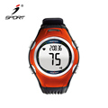 Cheap sporty clock online black sports heart rate Monitor timer running watches