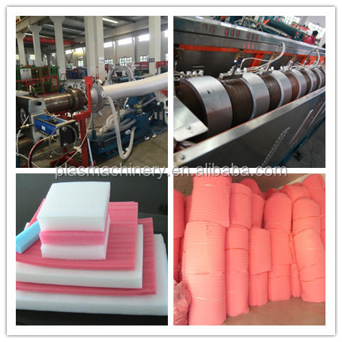 Full Production Line Expanded Polyethylene Foam Sheet Bed Mattress 100mm Thickness Making Machinery