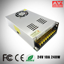 S-240-24 led driver power supply 240W 24v 10a smps for Factory Supplier